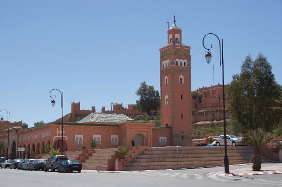 mosque in central ouarzazate