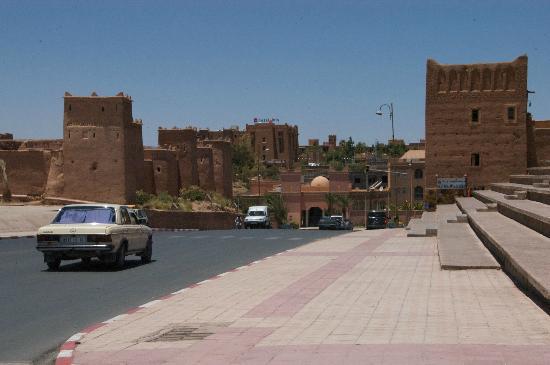 central ouarzazate near taourirt kasbah