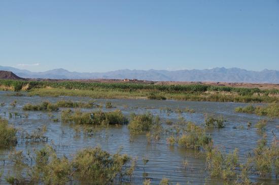 view of river ouarzazate
