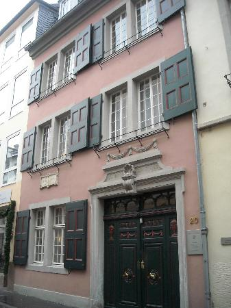 Casa di beethoven facciata esterna fotograf a de - Facciata esterna casa ...