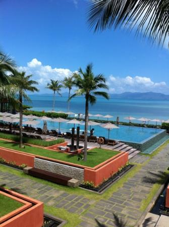 Hansar Samui Resort: beautiful view
