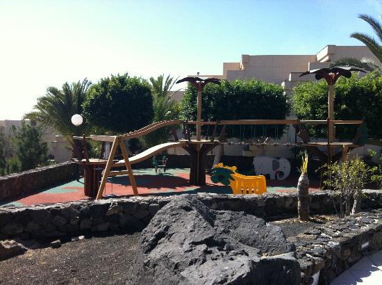 Be Live Family Lanzarote Resort: Play area by main pool