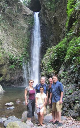 Aahh Bali Bed & Breakfast : Day out at the Gitgit Waterfalls
