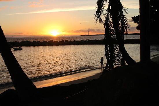 HL Hotel Rio Playa Blanca: Beach at sunset