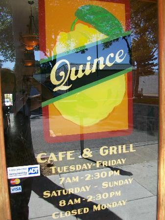 Quince Cafe & Grill