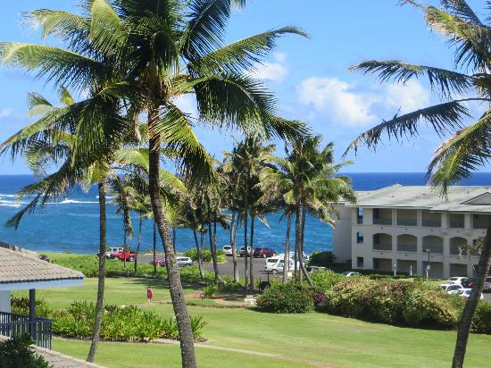 Poipu Sands Condominuims: View from lanai