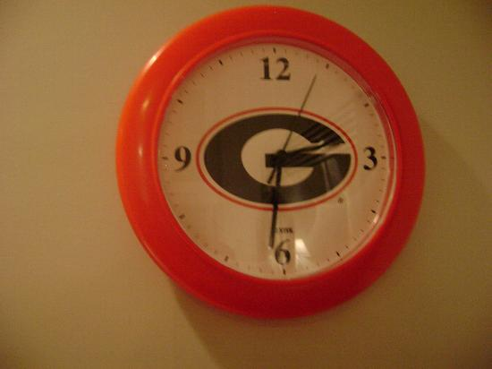 Gameday Center Luxury Sports Condominiums: Wall Clock in the Kitchen