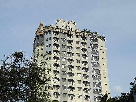 D-Villa Residence Hotel: holiday villa signboard