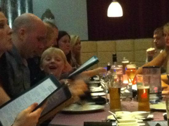 Indigo Restaurant: great table spacing