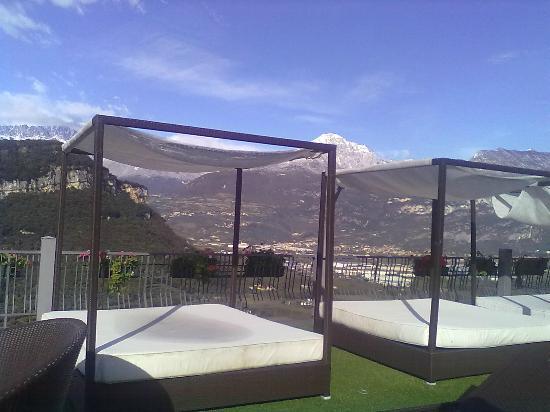 Hotel Isola Verde: terrazza solarium