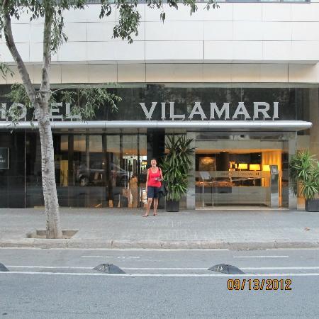 Hotel Vilamari: Hotel entrance
