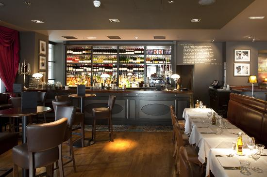 Brasserie Blanc St Paul's: Bar
