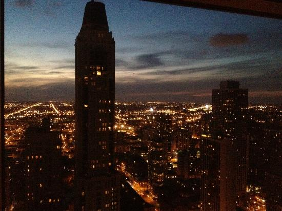 Four Seasons Hotel Chicago: View from our room - unbelievable