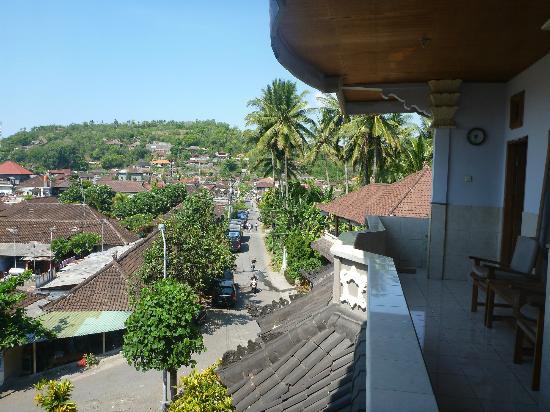 Serangan Inn II : view from the room