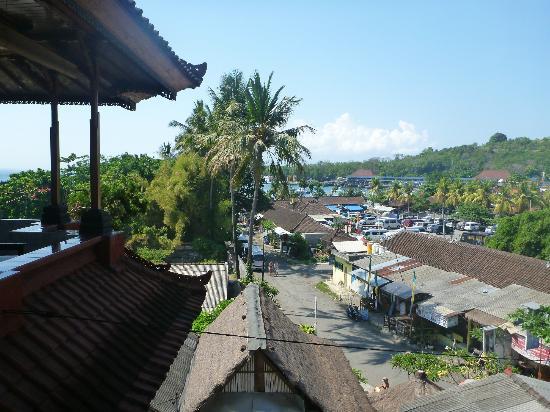 Serangan Inn II : The view from the room - the port