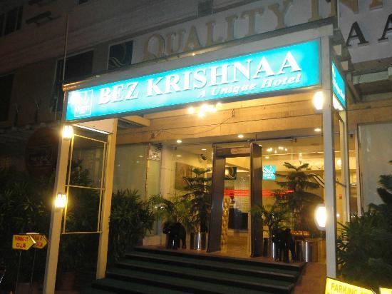 Quality Inn Bez Krishnaa: Hotel entrance