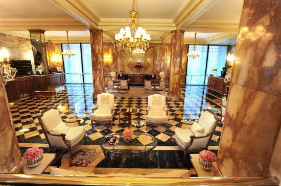 Hotel de Crillon: Lobby