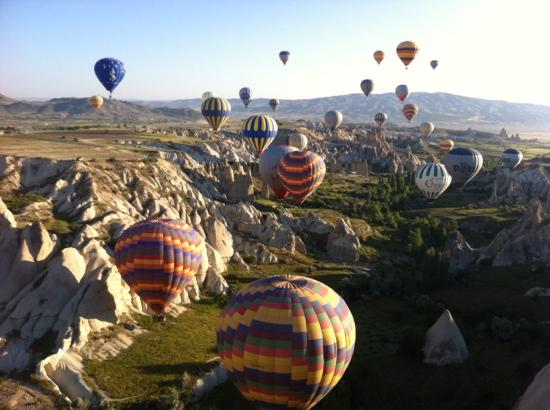 Turkey Balloons - Picture of Turkiye Balloons, Goreme ...