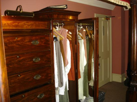 The Rookery Hotel: wardrobe