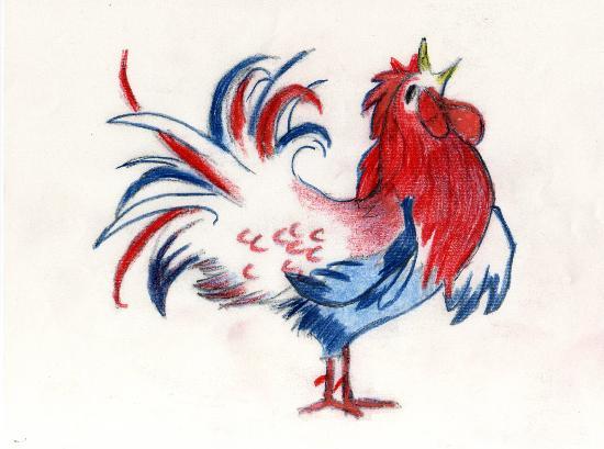 L'Auberge de France: rooster