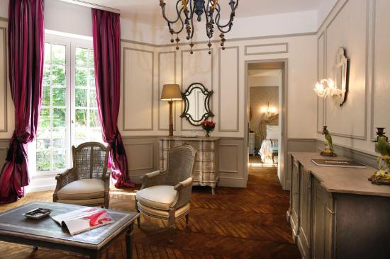 Saint James Paris - Relais et Chateaux: Lounge of a Suite