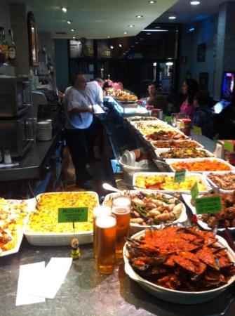 Bar Artigas: il mesón
