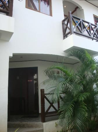 Nirvana Beach Resort: the 2-bedroom 2-bathroom condo