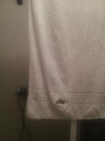 Cristal: Huecos en toallas