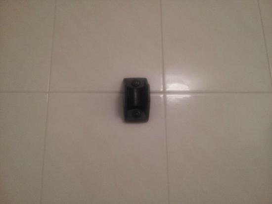 Cristal: Soporte de ducha roto