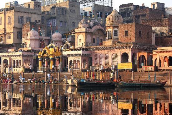 Mathura, Indien: Vishram ghat