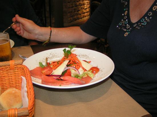 Restaurant Sa Casa : insalata al salmone