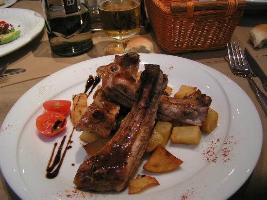 Restaurant Sa Casa : le costolette di maiale