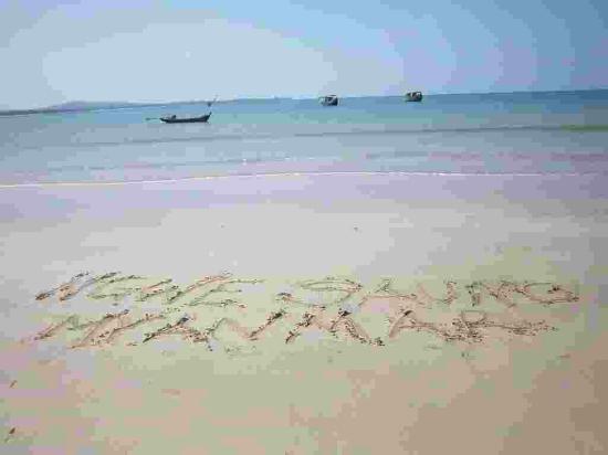 The Palm Beach Resort: beach