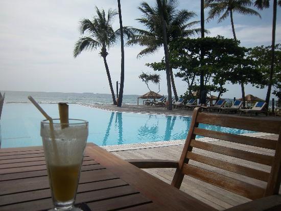 The Palm Beach Resort: restaurant , excelent