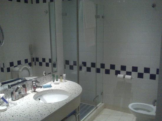 Hilton Sofia: Camera 724 - bagno
