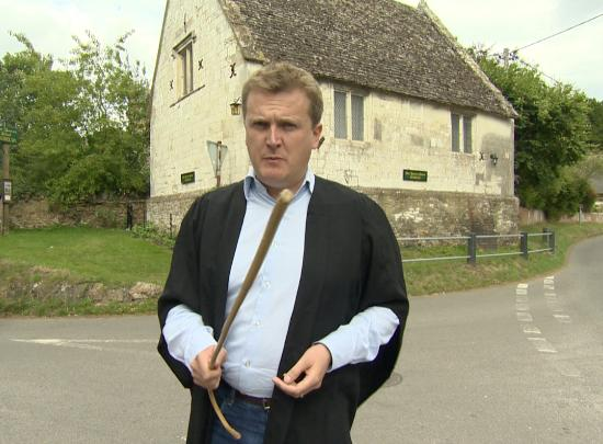 Tom Brown's School Museum: A visit by Aled Jones for 'Escape to the Country'