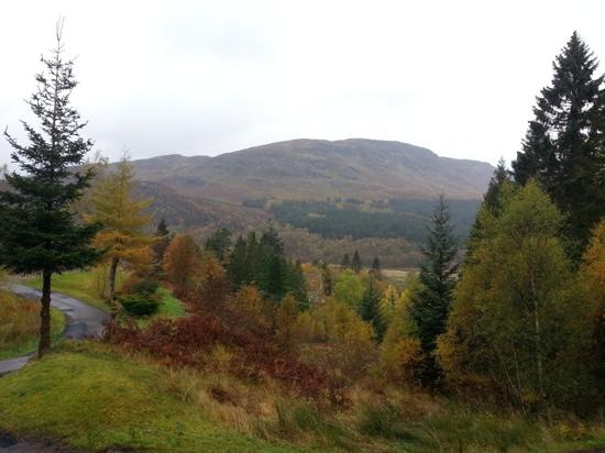 Portnellan: view from The Osprey Lodge