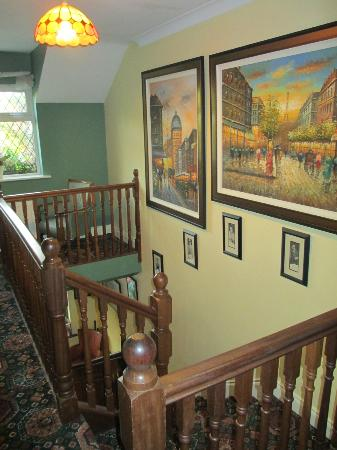 Augusta Lodge: Upstairs area