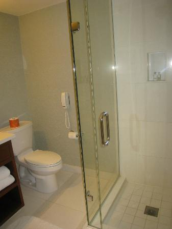 Loews Coronado Bay Resort: separate shower