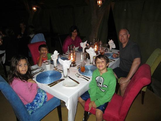 Jaci's Safari Lodge: Great meals... top notch!!