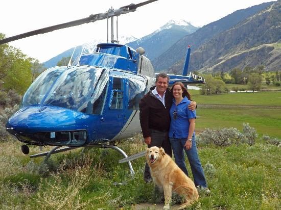 Valhalla Helicopters: A unique helipad in the Similkameen Valley
