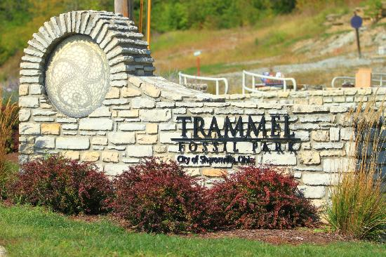 Trammel Fossil Park: TFP sign at the entrance