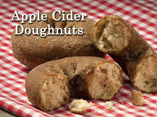 Fly Creek Cider Mill's Snack Barn Restaurant & Bakery: Apple Cider Doughnuts