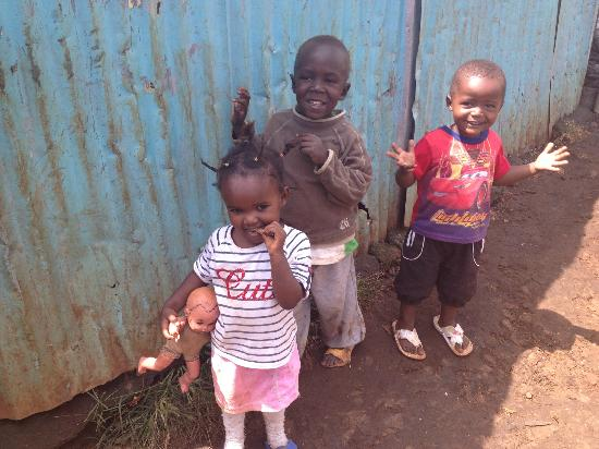 Kibera Tours: sweet children of Kibera