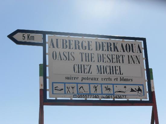 Auberge Derkaoua Chez Michel: Sur la route entre Risani et Merzouga