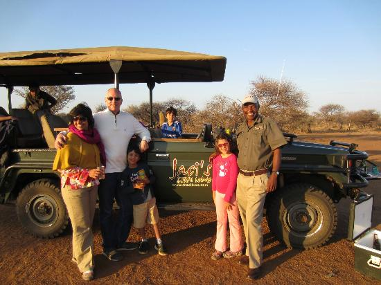 Jaci's Safari Lodge: Great game drives... We thought Thomas was the best guide!