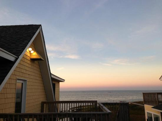 The Inn on Pamlico Sound: View from Camelia's private balconey