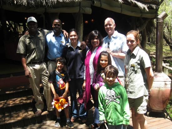 Jaci's Safari Lodge : Personal service... Great Jaci's Team... Thanks for the experience!