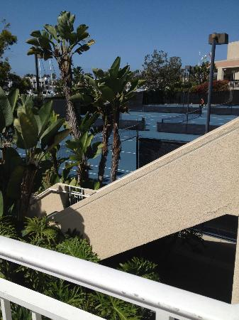 Loews Coronado Bay Resort: outdoor tennis