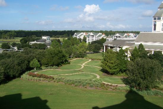 ‪‪World Golf Village Renaissance St. Augustine Resort‬: View from the Suite‬